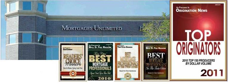 Mortgages Unlimited, Servicing Rochester MN area
